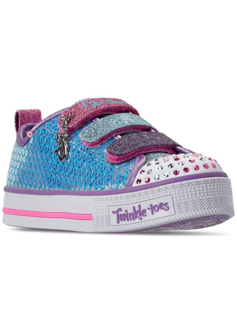 Little Girls' Twinkle Toes: Twinkle Lite Mermaid Magic Casual Sneakers from Finish Line