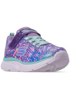 Skechers Little Girls' Wavy Lite Slip-On Running Sneakers from Finish Line