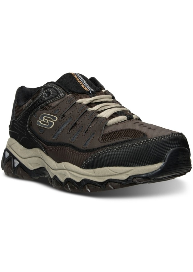 6f6e392ee033 Men s After Burn - Memory Fit Wide Width Training Sneakers from Finish  Line. Skechers