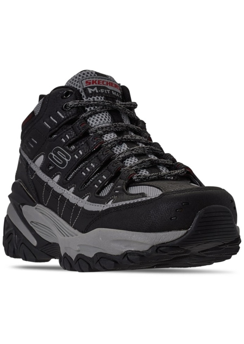 Skechers Men's After Burn Fit Max Pelraine Casual Sneakers from Finish Line