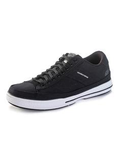 "Skechers® Men's Arcade ""Chat Memory"" Sneakers - Black"