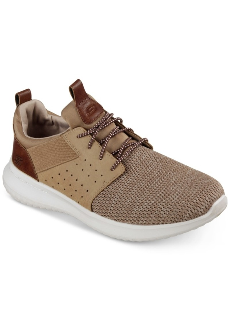 Skechers Men's Delson - Camben Casual Walking Sneakers from Finish Line