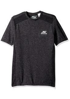 Skechers Men's Go Knit Seamless Workout Short Sleeve T-Shirt  2XL
