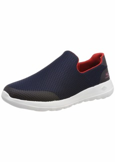 Skechers Men's GO Walk MAX-54637 Sneaker Navy/red  M US