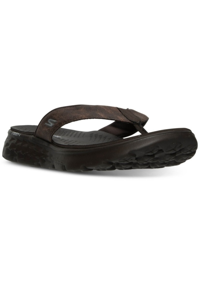 Skechers Men's On The Go 400 - Vista Comfort Thong Sandals from Finish Line
