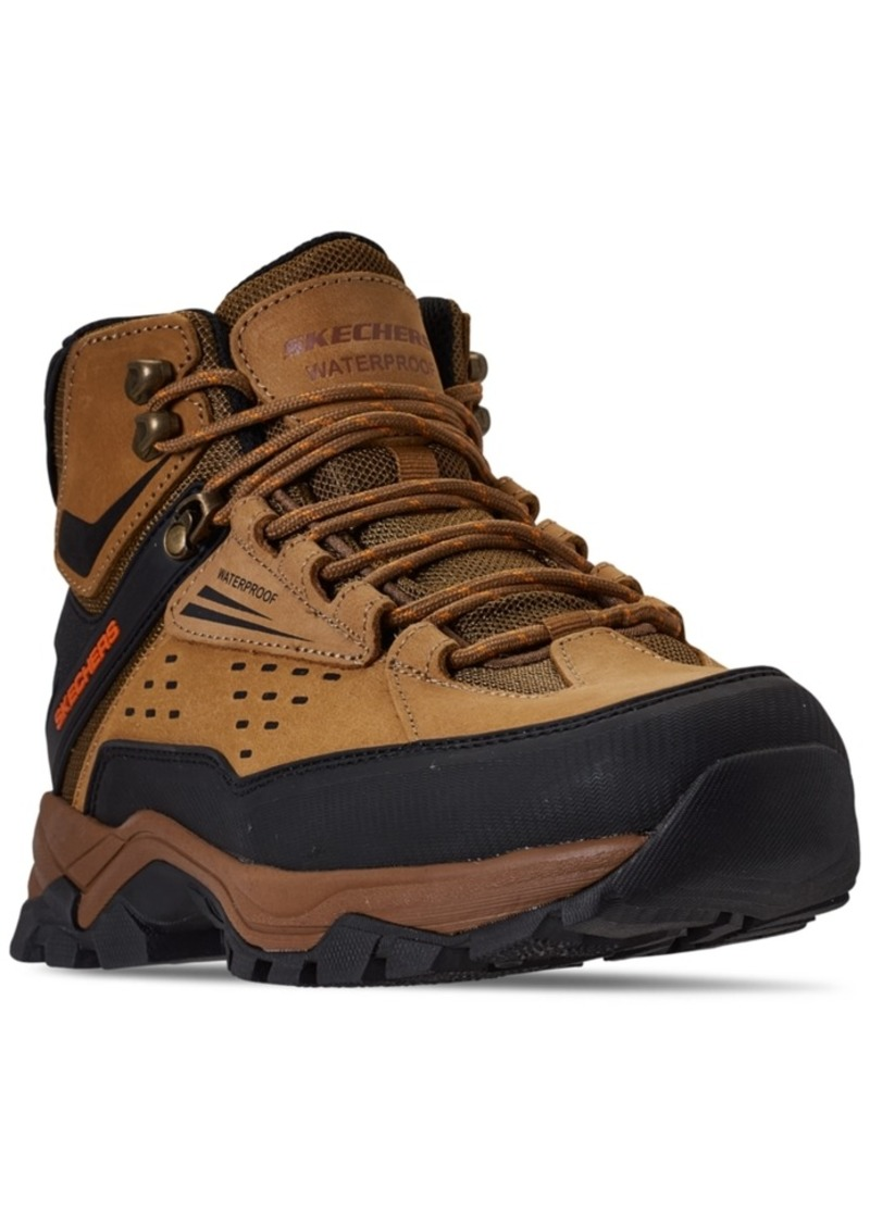 Skechers Men's Relaxed Fit Polano Norwood Hiking Boots from Finish Line