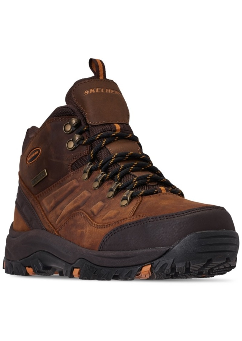 Skechers Men's Relaxed Fit Relment Traven Boots from Finish Line