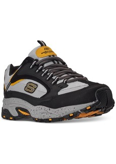 Skechers Men's Stamina Cutback Extra Wide Walking Sneakers from Finish Line