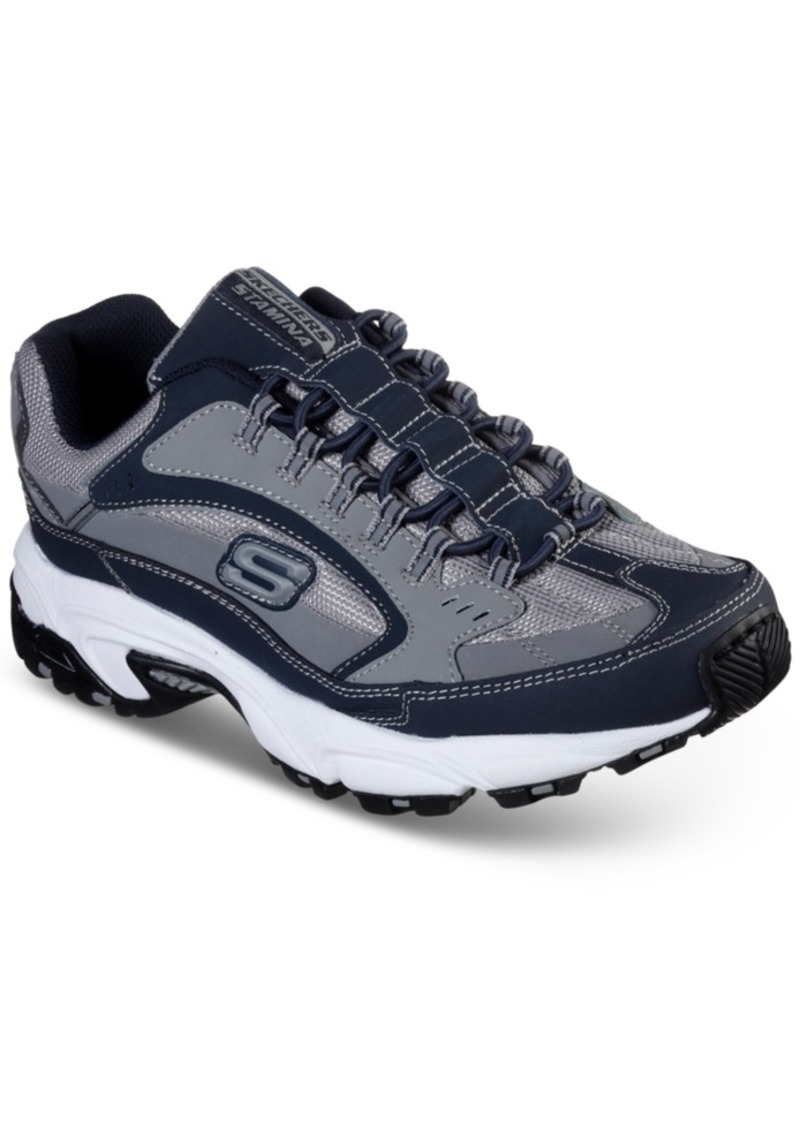 Skechers Men's Stamina Slip-On Athletic Training Sneakers from Finish Line