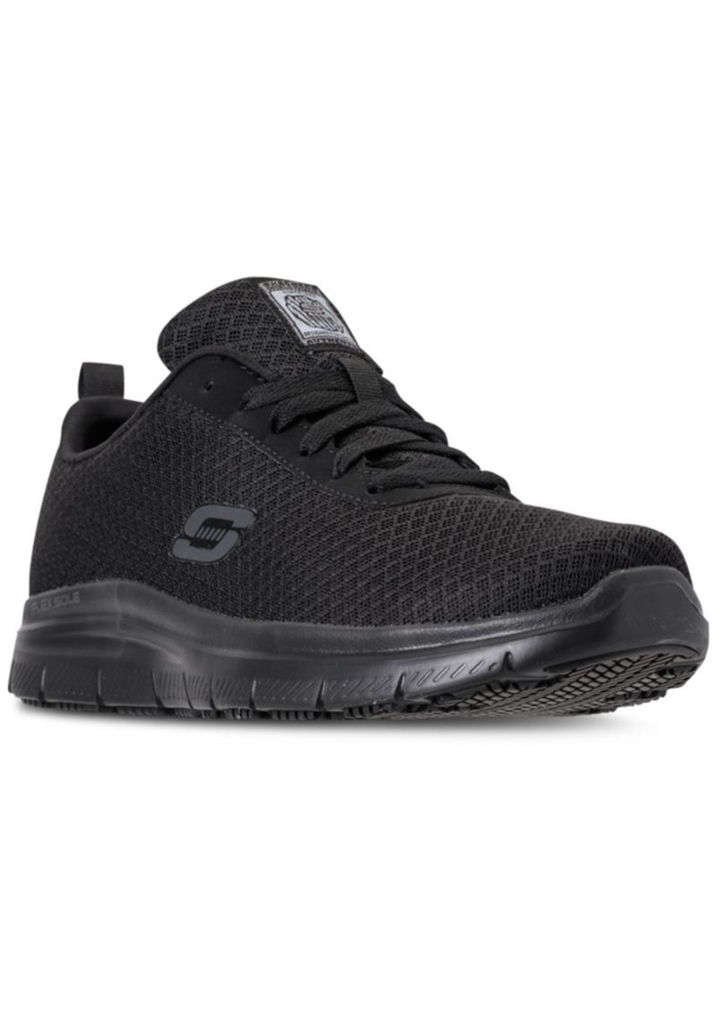 Skechers Men's Work Relaxed Fit: Flex Advantage - Bendon Sr Slip Resistant Athletic Sneakers from Finish Line