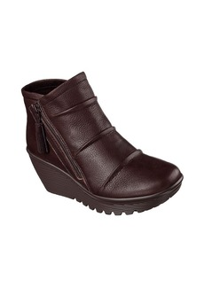 "Skechers® ""Parallel - Double Trouble"" Wedge Booties"