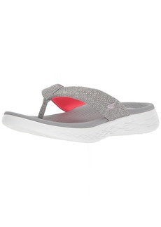 Skechers Performance Women's on-the-Go 600-15304 Flip-Flop gray/pink  M US