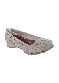 "Skechers® ""Skx Women's Suede Laser Cut Skimmer"" Casual Slip-On Shoes"