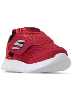 Skechers Toddler Boys' Comfy Flex - Double Stride Athletic Running Sneakers from Finish Line