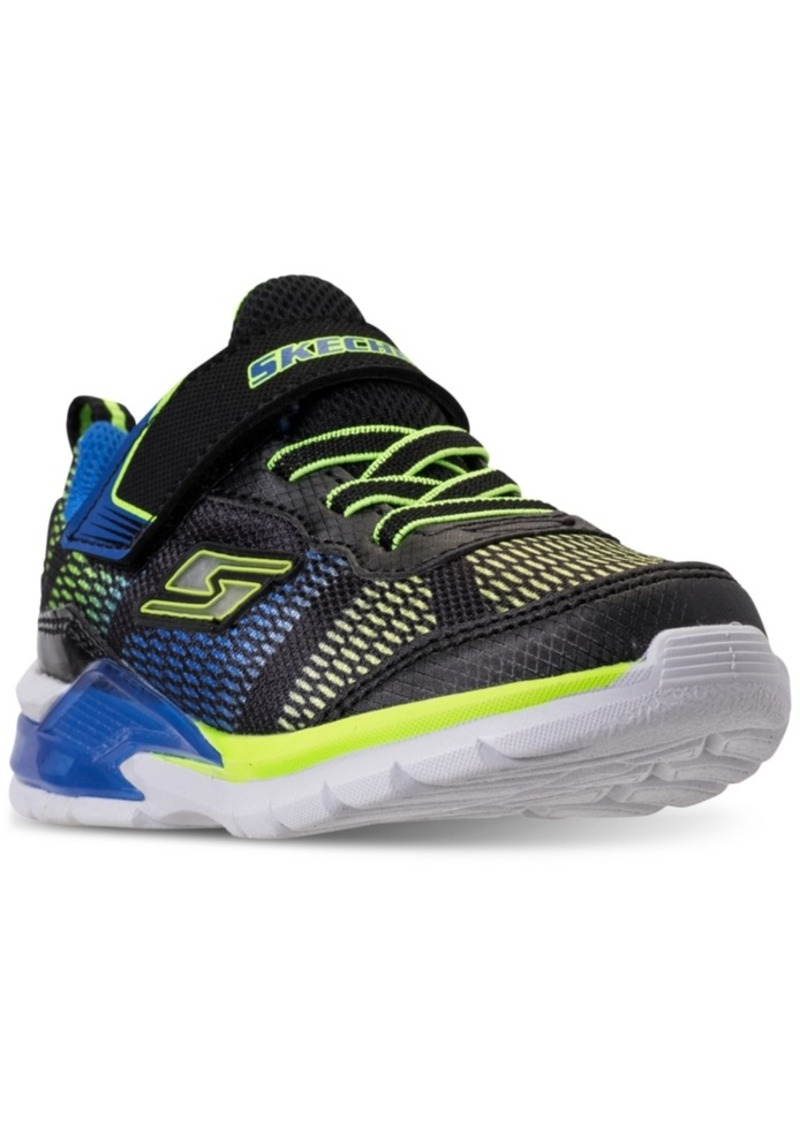 5919dd97a08d Toddler Boys  S Lights  Erupters Ii - Lava Waves Light-Up Casual Sneakers  from Finish Line. Skechers