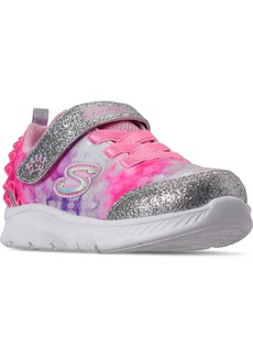 Skechers Toddler Girls Comfy Flex 2.0 Stay-Put Closure Casual Sneakers from Finish Line