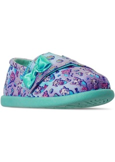 Skechers Toddler Girls Lil' Bob Slip-On Stay-Put Closure Casual Sneakers from Finish Line