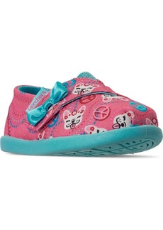 Skechers Toddler Girls Lil Bobs Solstice 2.0 Peaceful Pups Slip-On Stay-Put Closure Casual Sneakers from Finish Line
