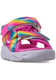 Skechers Toddler Girls S Lights Hypno-Splash Rainbow Lights Sport Sandals from Finish Line