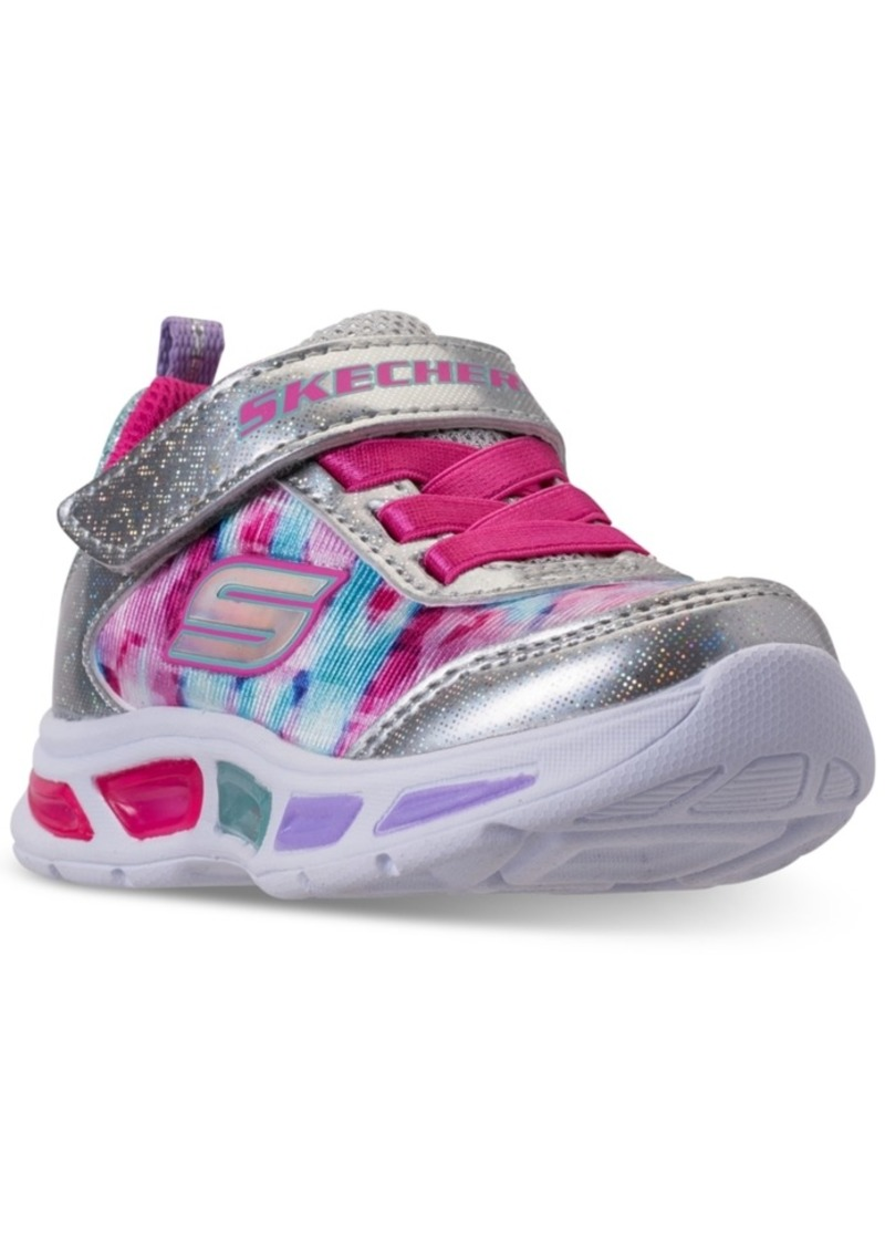 c24db8e7f Skechers Toddler Girls  S Lights  Litebeams - Dance N Glow Light Up Running  Sneakers