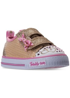 Skechers Toddler Girls' Twinkle Toes: Shuffles Itsy Bitsy Light-Up Sneakers from Finish Line