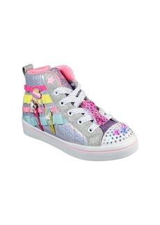 SKECHERS Twi-Lites 2.0 Light-Up High Top Sneaker (Toddler & Little Kid)