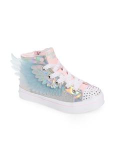 SKECHERS Twi-Lites 2.0 Light-Up High-Top Sneaker (Toddler & Little Kid)
