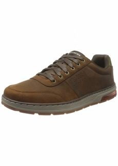 Skechers USA Men's Low Profile Leather Lace Up Oxford