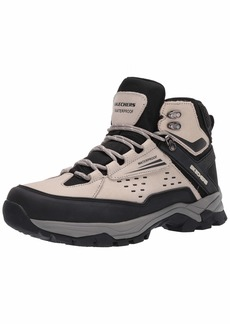 Skechers USA Men's Polano- Norwood Waterproof Boot Multi