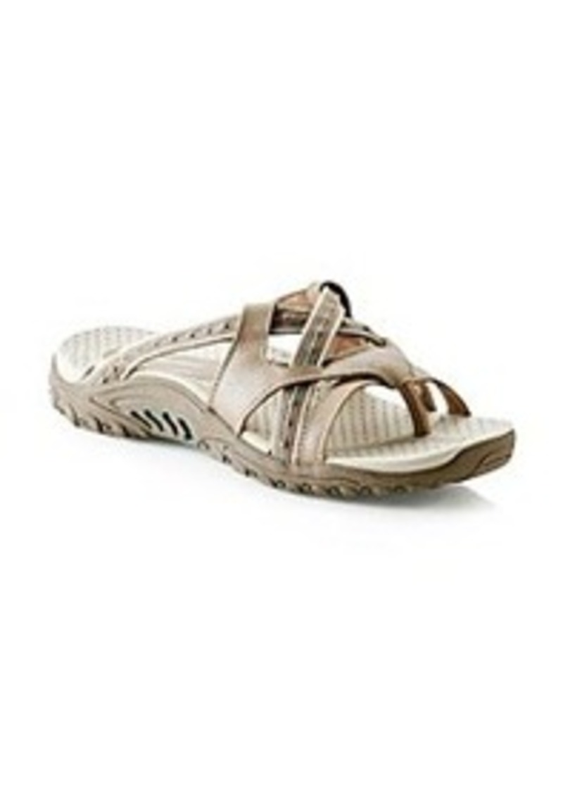 "Skechers® USA ""Sound Stage"" Thong Sandals - Taupe"