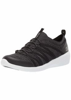 Skechers womens Arya Sneaker Black/White  US