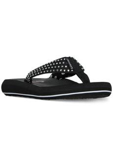Skechers Women's Asana Flip-Flop Thong Sandals from Finish Line
