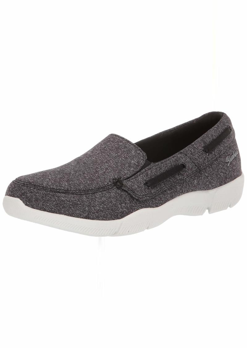 Skechers Women's Be-Lux - Easily Done Shoe BKW