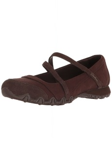 Skechers Women's Bikers -Fiesta Mary Jane Flat