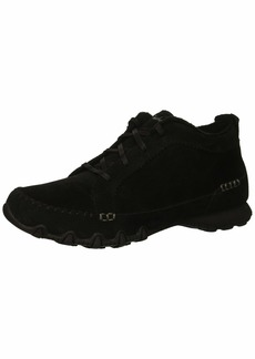 Skechers Women's Bikers-Lineage-Moc-Toe Lace-Up Chukka Boot   M US