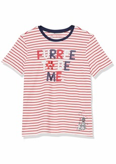 Skechers Women's Bobs for Dogs and Cats Graphic T-Shirt White/Red Furree to be Me XXL