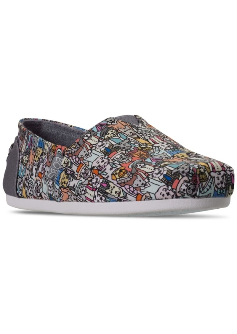 Skechers Women's Bobs for Dogs Plush Slip-On Casual Flats from Finish Line