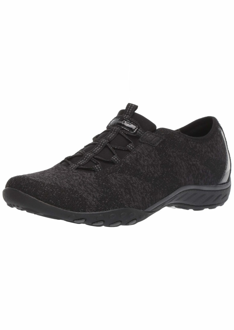 Skechers Women's Breathe-Easy - Opportuknity Shoe BLK  M US