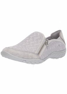 Skechers Women's Breathe Easy-Wise Words Sneaker ltgy  M US