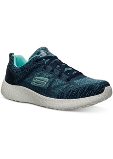 Skechers Women's Burst Soft Knit Running Sneakers from Finish Line