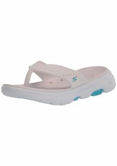 Skechers Women's Foamies Go Walk 5-Bali Sport Sandal