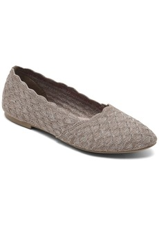 Skechers Women's Cleo Honeycomb Casual Ballet Flats from Finish Line
