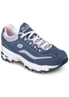 Skechers Women's D-Lites - Life Saver Wide Walking Sneakers from Finish Line