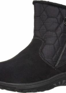 Skechers Women's Easy Going-Tribune-Double Zipper Bungee Bootie with Air-Cooled Memory Foam Ankle Boot   M US