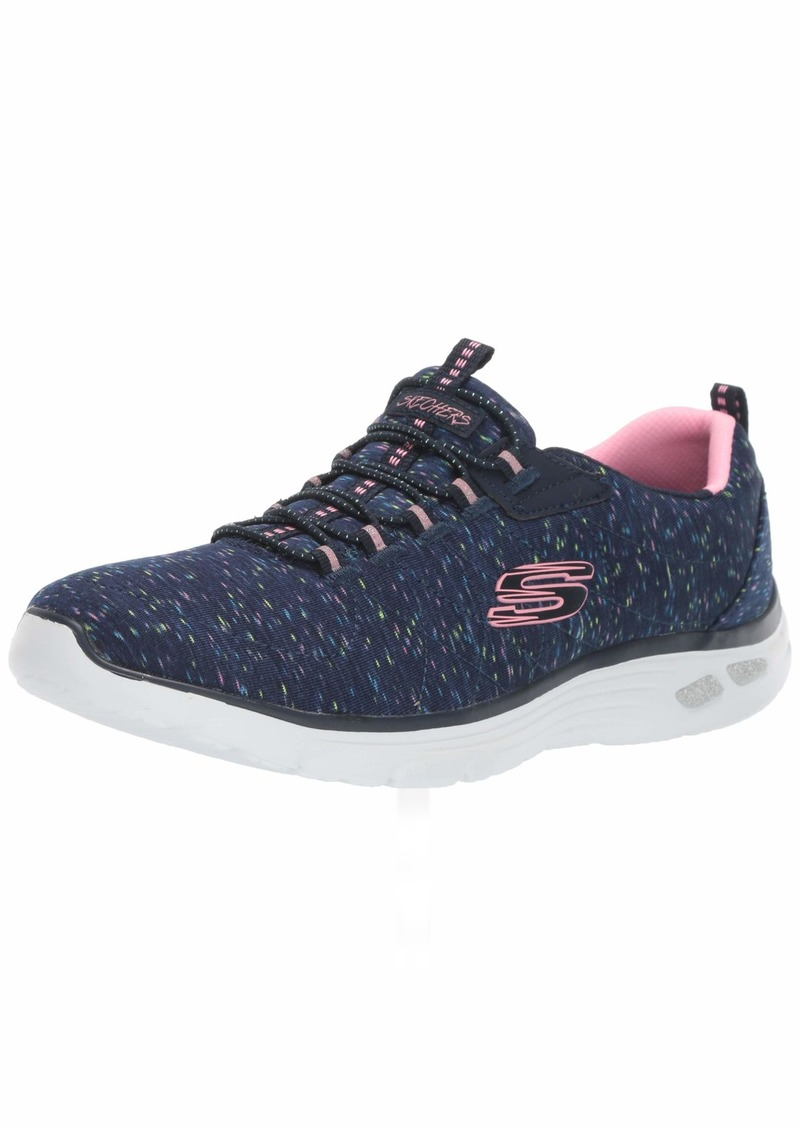 Skechers Women's Empire D'LUX Sneaker NVMT  M US