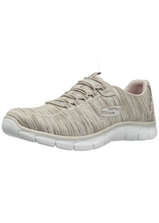 Skechers Women's Empire Game On Memory Foam Sneakers Shoes Taupe  B(M) US