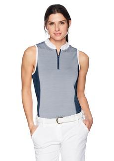 Skechers Women's Fairway Sleeveless Mock Neck Polo  XL