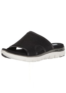 Skechers Women's Flex Appeal 2.0-Summer Jam-Casual Sporty Comfort Slide Sandal