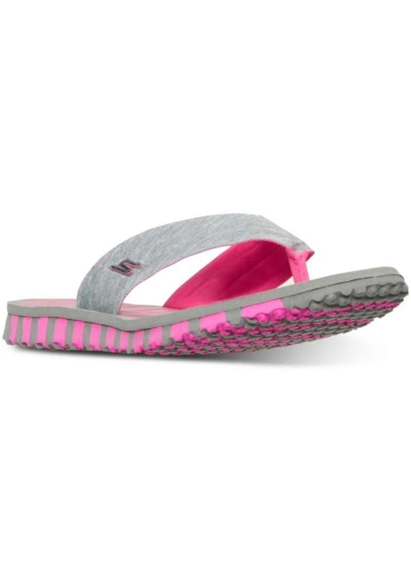 5c7a14c0c1c0 Skechers Skechers Women s Go Flex - Vitality Flip Flop Sandals from ...