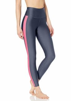 Skechers Women's Go Flex Aerate High Waisted 7/8 Yoga Pant Legging Blue iris XS